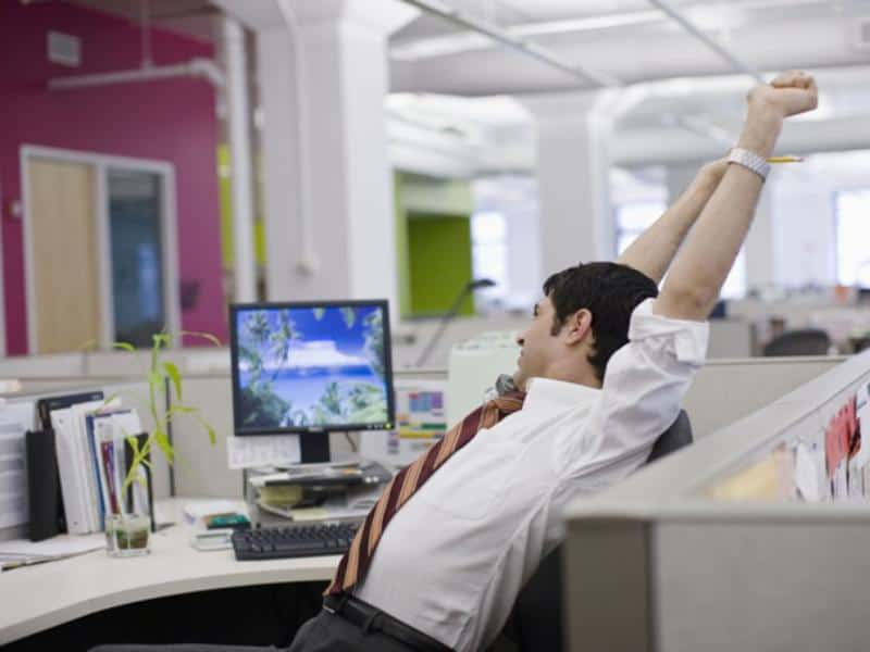 Stretching at Office